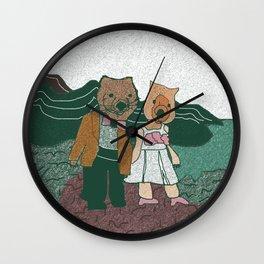 Wilsons Prom Wall Clock