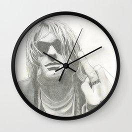Kurt from Nirvana Wall Clock