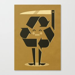 Recycling ... Canvas Print