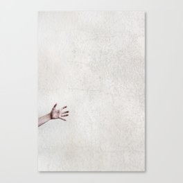 helpless. Canvas Print
