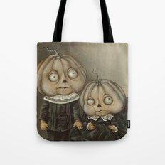 Rucus Studio Ghoul Kids Pumpkins Tote Bag