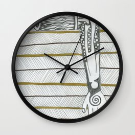 Need a hand,then perhaps an arm. Wall Clock
