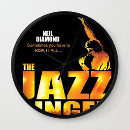 NEIL DIAMOND JAZZ SINGER TOUR DATES 2019 KAMBOJA Wall Clock