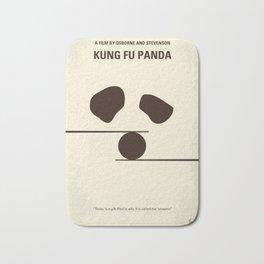 No227 My KUNG FU Panda minimal movie poster Bath Mat