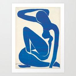 Blue Nude #1- Henri Matisse Art Print