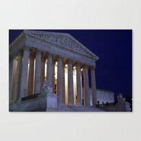supreme Canvas Prints featuring Supreme court by Dr. Tom Osborne