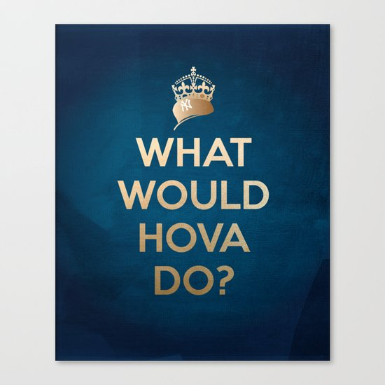 What Would Hova Do? - Jay-Z Canvas Print