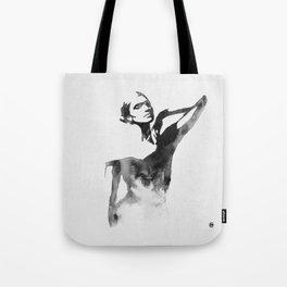 Figurine (Ink Painting) Tote Bag