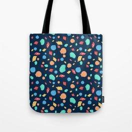 Colorful Sea Shells Tote Bag