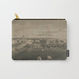 Vintage Cleveland Ohio Illustration (1833) Carry-All Pouch