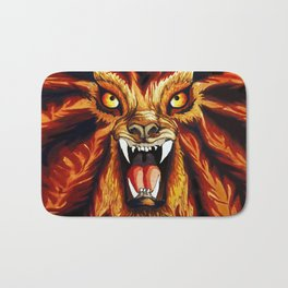 Werewolf Bath Mat