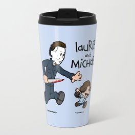 Laurie and Michael Travel Mug