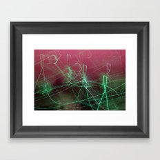 City lights #1 Framed Art Print