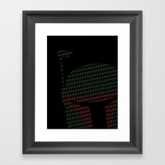 Peek-a-Boba Framed Art Print