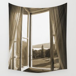 Another window in Tuscany Wall Tapestry