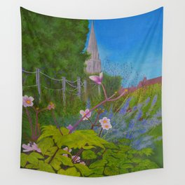 Chichester Bishops Palace Gardens Wall Tapestry