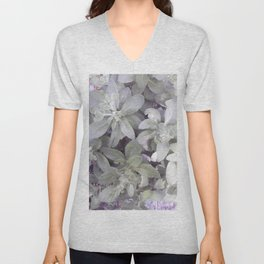 Autumn Joy Sedum Unisex V-Neck