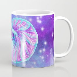 The Celestial Chambered Nautilus Coffee Mug