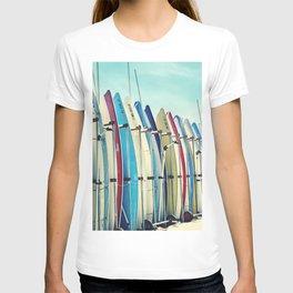 California surfboards T-shirt