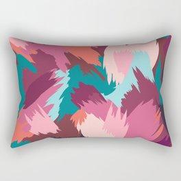 Spice Abstract Rectangular Pillow