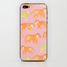 Pink Tigers iPhone & iPod Skin