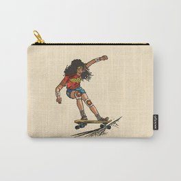 Wonder Skater (In Comic Colors!) Carry-All Pouch
