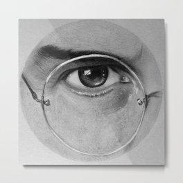 Steve Jobs Eye Metal Print