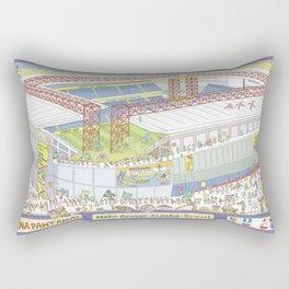 Pantanal Soccer Arena, Cuiabá, Mato Grosso, Brazil Rectangular Pillow