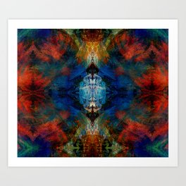 ABSTRACT COLORS 5 Art Print