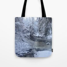 St-André river Tote Bag