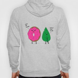 Donut and Leaf Hoody