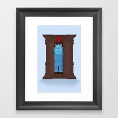 Monster's Wardrobe Framed Art Print
