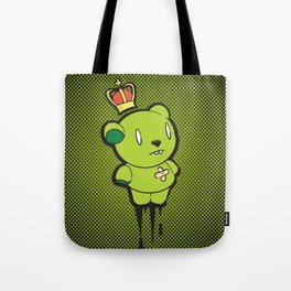 Green Dead Bear Tote Bag