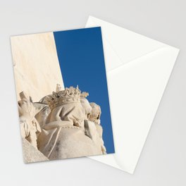 Monument of the Discoveries detail Stationery Cards