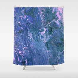 Earth from Above Shower Curtain