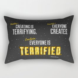 Two Postulates Rectangular Pillow