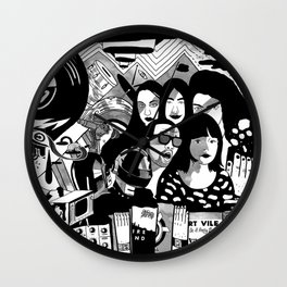 Sound & Vision: 2013 in Music by Steven Fiche Wall Clock