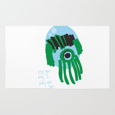 my eye is only on you [SQUID] [EYE]  Rug