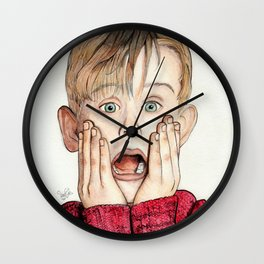 Macaulay Culkin Wall Clock