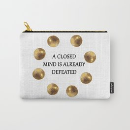 Zenyatta Quote Carry-All Pouch