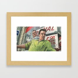 Paulie and Silvio Framed Art Print