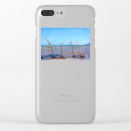 Skeletal mangrove trees Clear iPhone Case