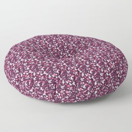 Pretty Ditsy Texture Print Floor Pillow
