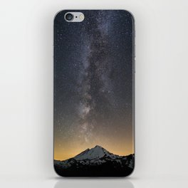 Milky Way over Mt. Baker iPhone Skin