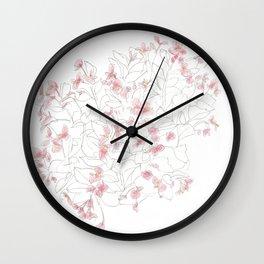 Flors Wall Clock