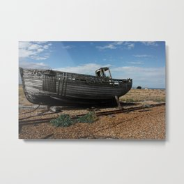 Boat off Course Metal Print