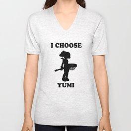 I choose Yumi Unisex V-Neck