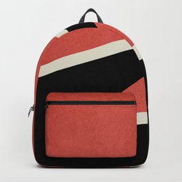 Three colors geometry Backpack