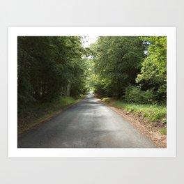 The Green Road Art Print