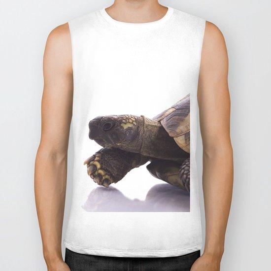 Greek land tortoise Biker Tank